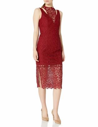 Keepsake Women's Uplifted Lace Midi Dress