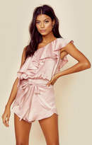 Tru blu wrap star one shoulder romper