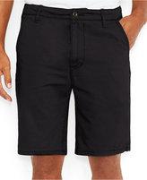 Levi's Men's Straight-Fit Chino Shorts, Black Wash