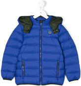 Armani Junior padded jacket - kids - Polyamide/Polyester/Duck Feathers - 4 yrs
