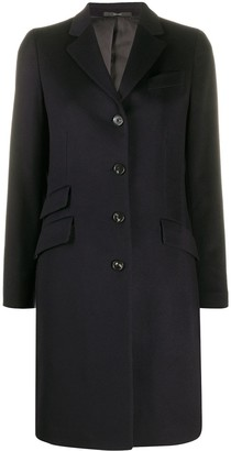 Paul Smith Multi Pocket Single-Breasted Coat
