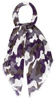 Christopher Kane Camouflage Print Scarf