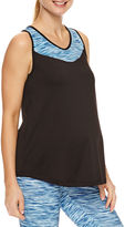 Asstd National Brand Knit Tank Top-Plus Maternity