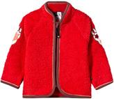 Molo Urvan Fleece Jacket In True Red