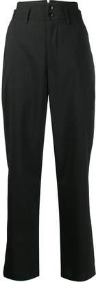 Barena glen plaid straight trousers