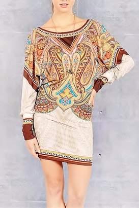 People Outfitter Dolman Sleeve Mini Dress