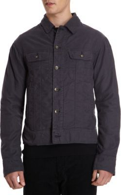 Rag and Bone Rag & Bone Slim Fit Button Jacket