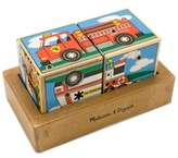 Melissa & Doug Kids Toy, Vehicles Sound Blocks