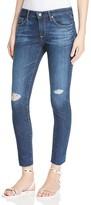 AG Jeans Legging Ankle Jeans in Never Ending Destroyed