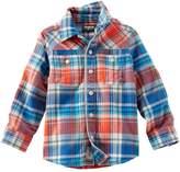 Osh Kosh Oshkosh Bgosh Boys 4-7 Plaid Button-Down Shirt