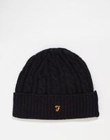 Farah Kirtley Beanie Hat - Black