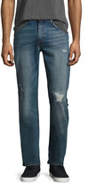 Joe's Jeans The Brixton Distressed Denim Jeans, Blue