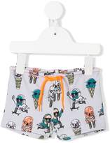 Stella McCartney Monster Ice Cream swim shorts