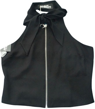 Jeremy Scott Black Top for Women