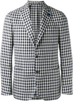 Lardini single-breasted blazer - men - Cotton/Linen/Flax/Polyester - 46