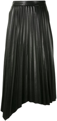 Jonathan Simkhai Pleated Midi Skirt