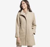 Johnston & Murphy Herringbone-Textured Coat