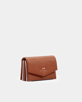 Ted Baker HIEDI Leather concertina card holder