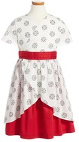 Tea Collection Izanami Wrap Dress (Toddler Girls, Little Girls & Big Girls)