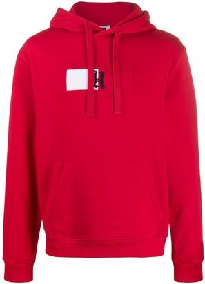 Tommy Hilfiger embroidered logo flag hoodie