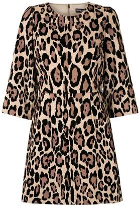 Dolce & Gabbana Leopard-Print Mini Dress