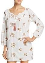 Josie Embroidered Floral Tunic Sleepshirt