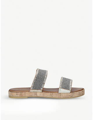 Carvela Comfort Samara leather slip-on sandals