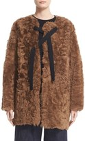 Sofie D'hoore Women's 'Connect' Reversible Genuine Shearling Jacket