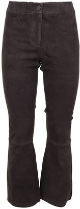 ARMA Stretch Suede Pants
