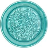 Casa Uno Bright Aluminium Plate, Arcobaleno Blue Small