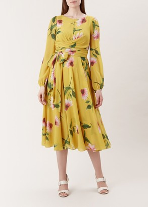 Hobbs Sadie Silk Dress