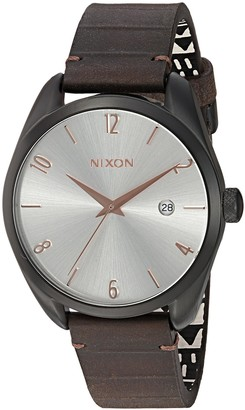 Nixon Women's 'Bullet' Quartz Leather Watch