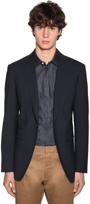 DSQUARED2 Los Angeles Fit Stretch Wool Blazer