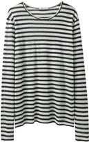 T by Alexander Wang / Linen Stripe Long Sleeve