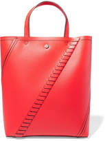 Proenza Schouler Hex Whipstitched Textured-leather Tote