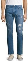 Hudson Sartor Slouchy Skinny Raw Hem Jeans