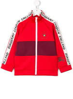 Burberry piped logo track top