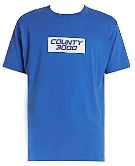 Marcelo Burlon County of Milan Men's County 3000 Basic T-Shirt