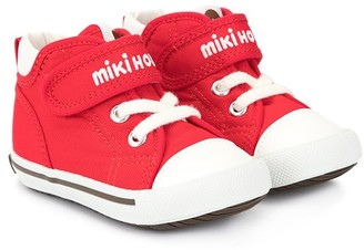 Mikihouse Logo Touch-Strap Sneakers