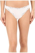 Only Hearts Organic Cotton Lace Thong