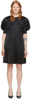 McQ Black Silk Hisano Mini Dress
