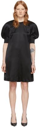 McQ Black Silk Hisano Mini Dress