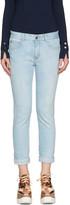 Stella McCartney Blue Star Skinny Boyfriend Jeans
