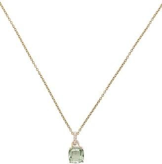 Kiki McDonough 18kt Yellow Gold Amethyst Pendant Necklace