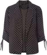 Dorothy Perkins Spot Tie Sleeve Jacket