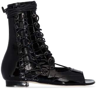 Liudmila Drury Lane lace-up sandals