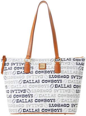 Dooney & Bourke Dallas Cowboys Doodle Wren Zip Tote
