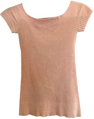 Helmut Lang Pink Velvet Top for Women