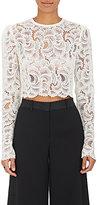 A.L.C. Women's Talia Guipure Lace Crop Top-WHITE