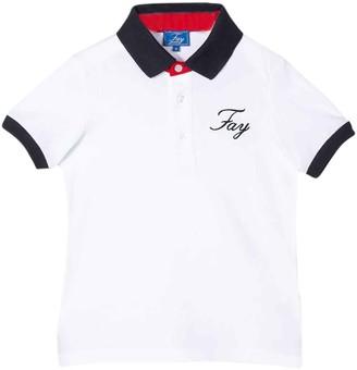 Fay White Polo Teen